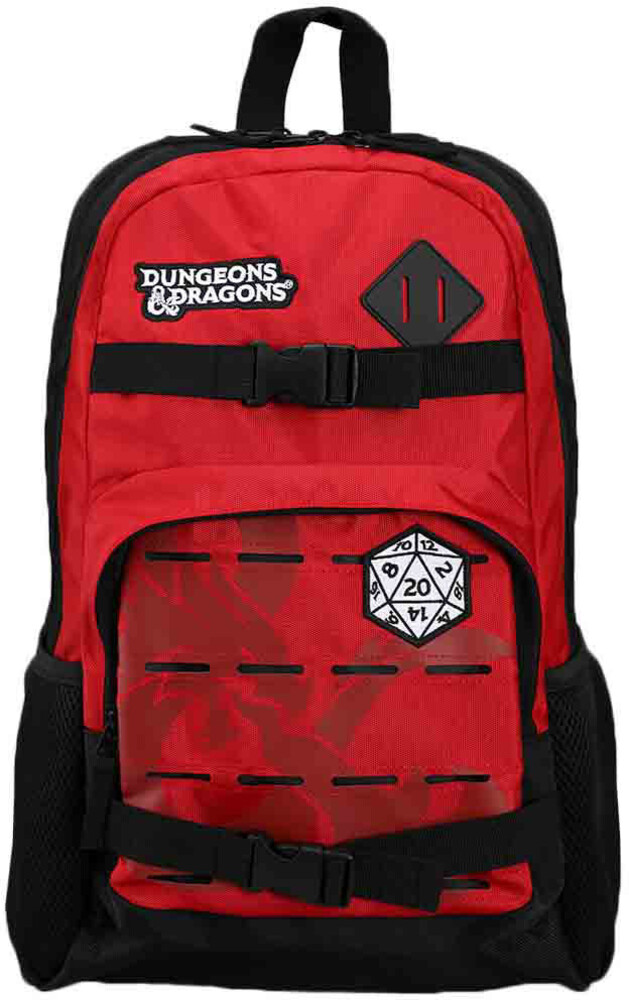 Dungeons & Dragons Skateboard Backpack - Dungeons & Dragons Skateboard Backpack (Back)