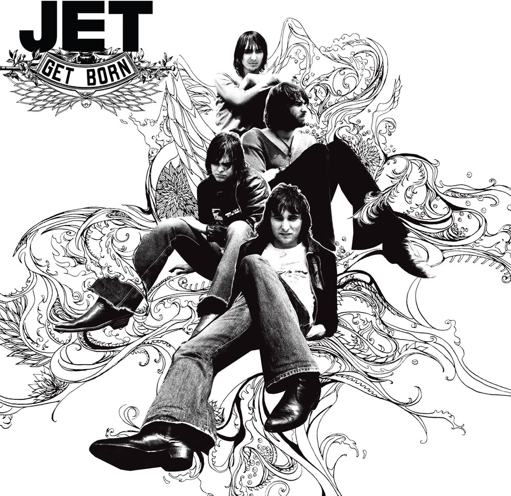 Jet - Get Born [Import LP]
