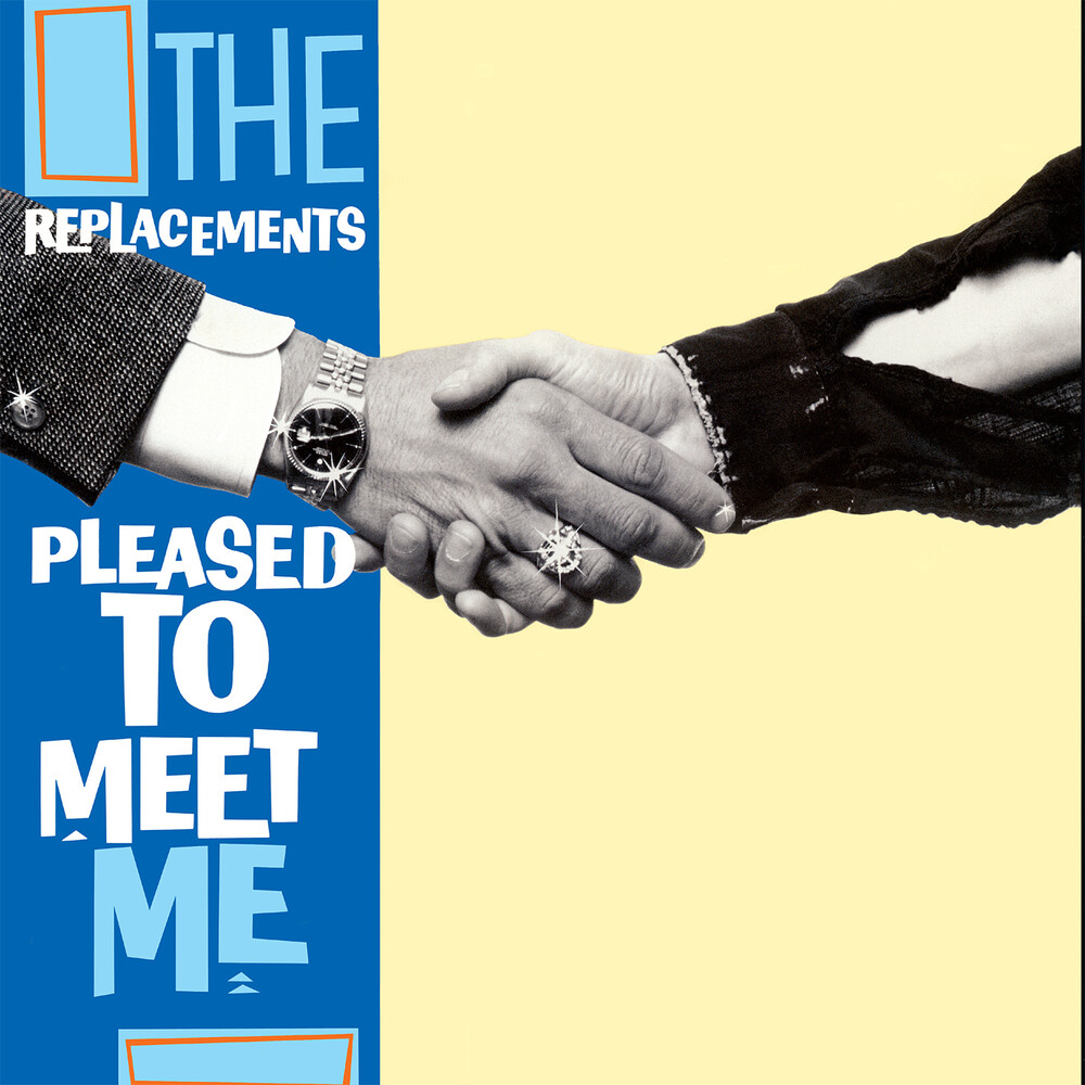 The Replacements - Pleased To Meet Me [SYEOR 2020 Blue LP]