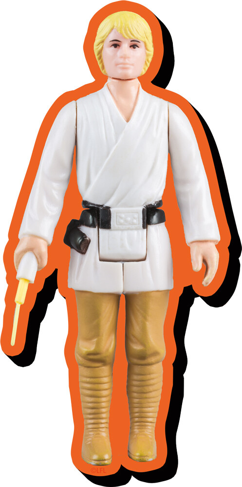 Star Wars Luke Skywalker Af Funky Chunky Magnet - Star Wars Luke Skywalker Action Figure Funky Chunky Magnet
