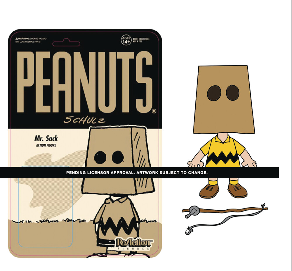 Peanuts Reaction Wave 3 - Mr. Sack - Peanuts ReAction Wave 3 - Mr. Sack
