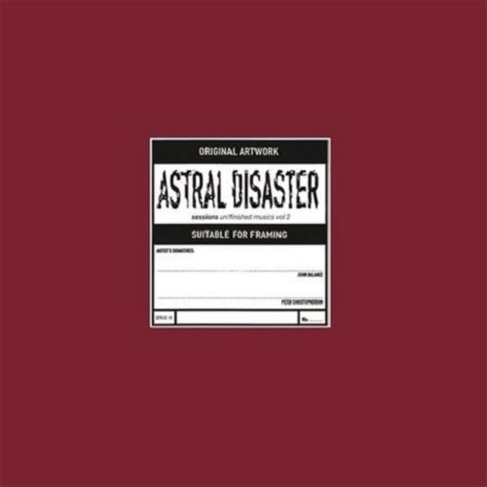 Coil - Astral Disaster Sessions Un/Finished Musics Vol. 2