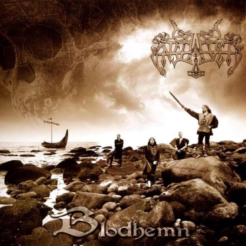 Enslaved - Blodhemn (Blk) [Colored Vinyl] (Gate) (Gol) [Limited Edition] [180 Gram]