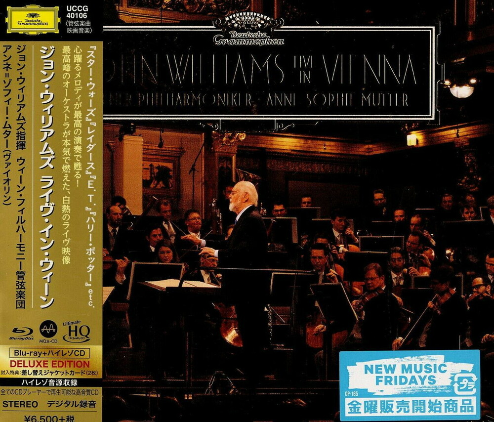 John Williams - John Williams In Vienna [Deluxe] (Wbr) (Hqcd) (Jpn)