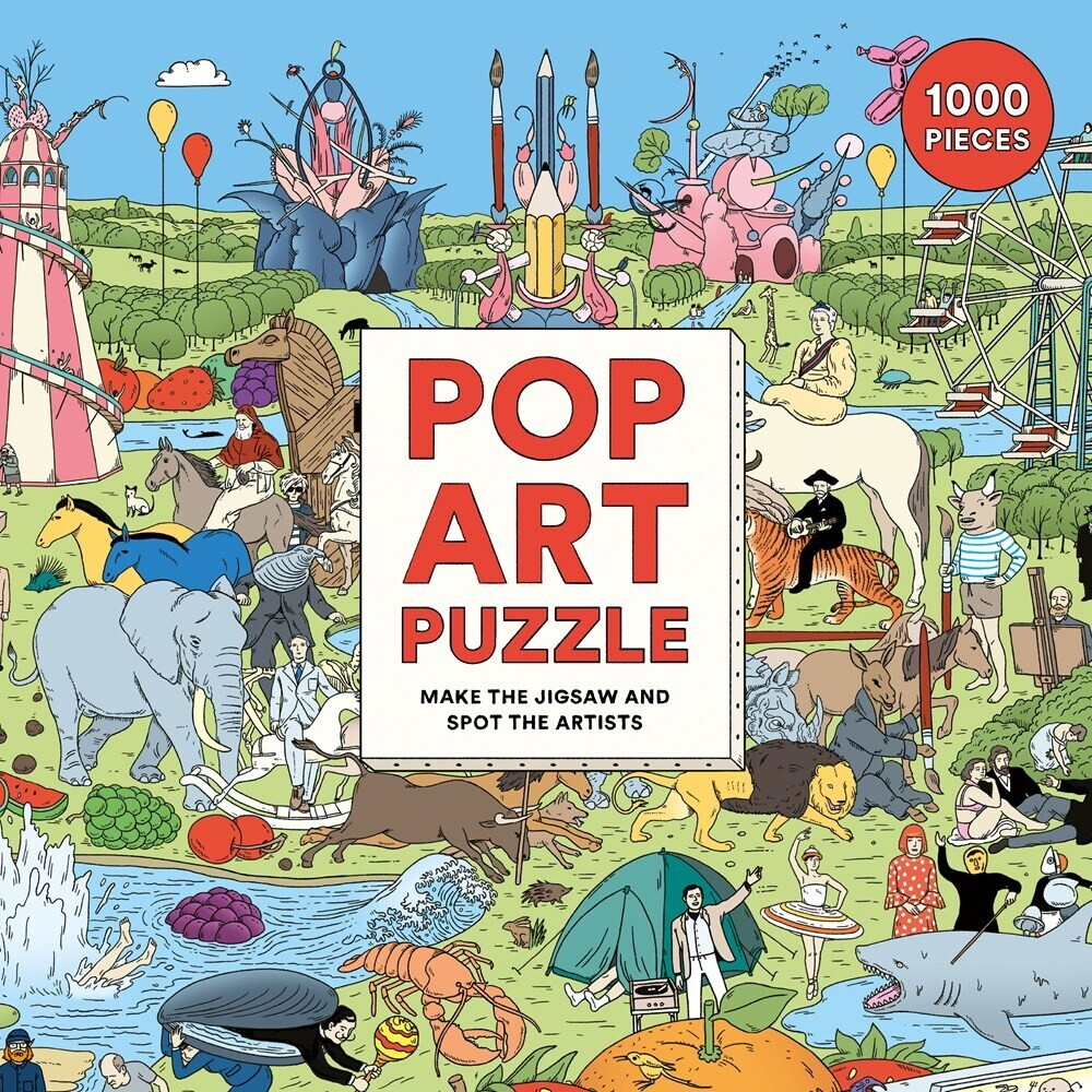 - Pop Art Puzzle: Make the Jigsaw and Spot the Artists