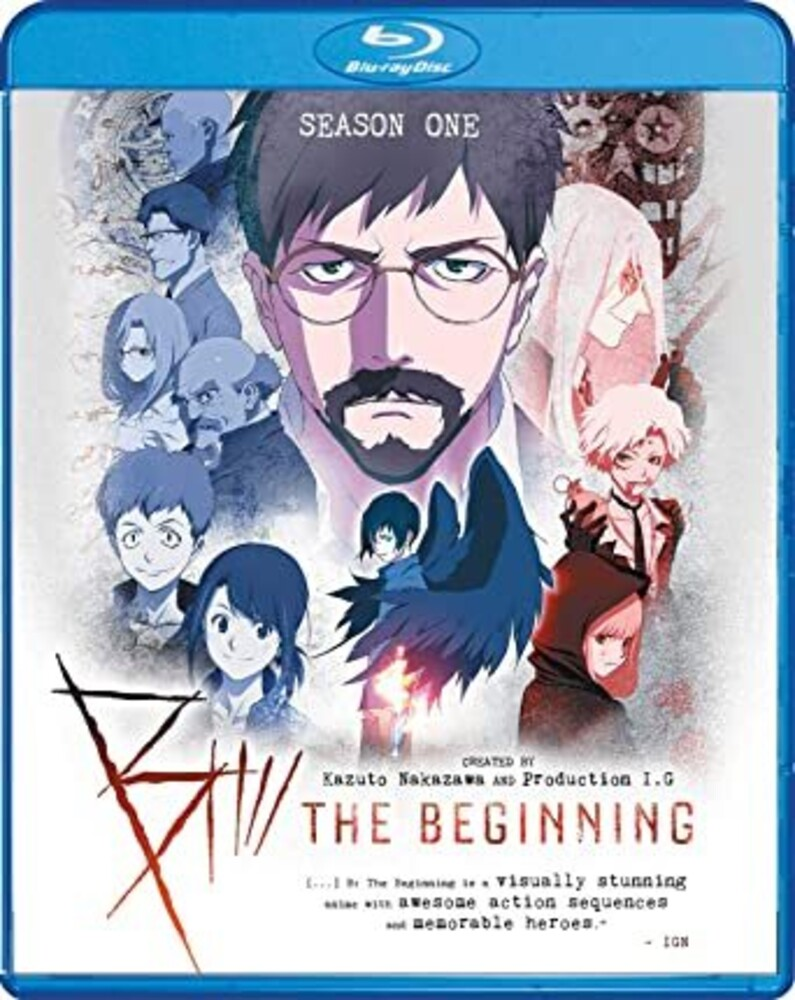 - B: Beginning - Season One (4pc) / (Ac3 Dol Sub Ws)