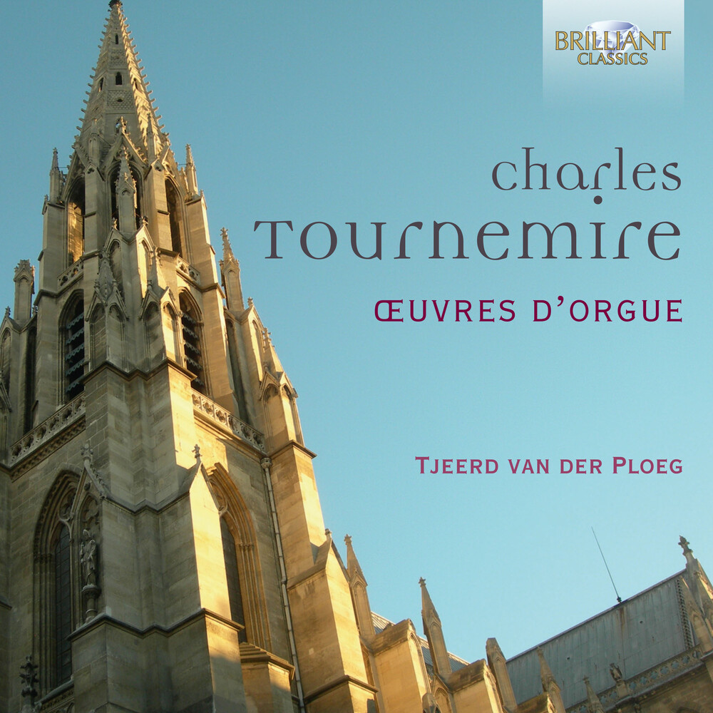 Tournemire / Ploeg - Oeuvres D'orgue (Box) (4pk)