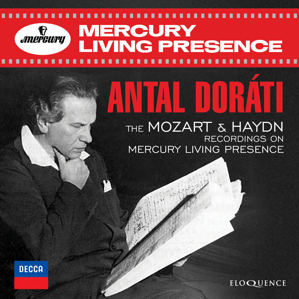 Antal Dorati - Mozart & Haydn Recordings On Mercury Living (Aus)