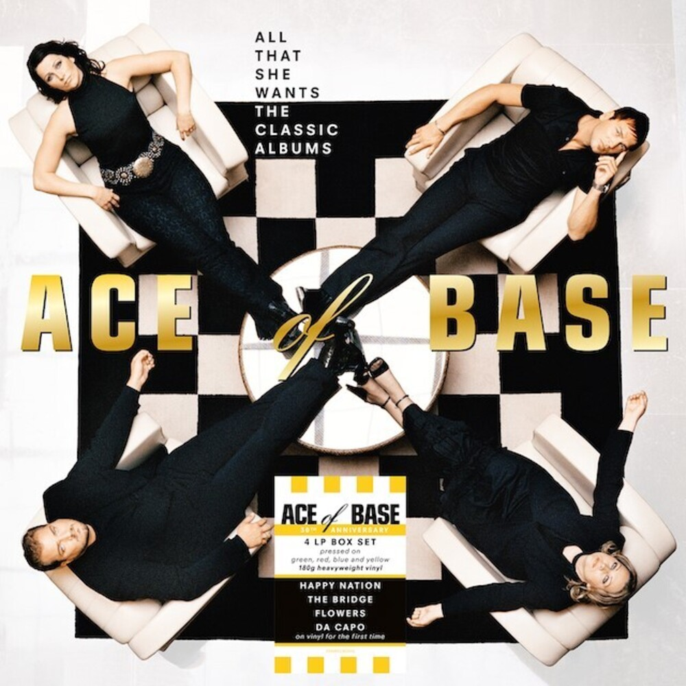 Ace Of Base - All That She Wants: The Classic Albums (Blue) (Uk)