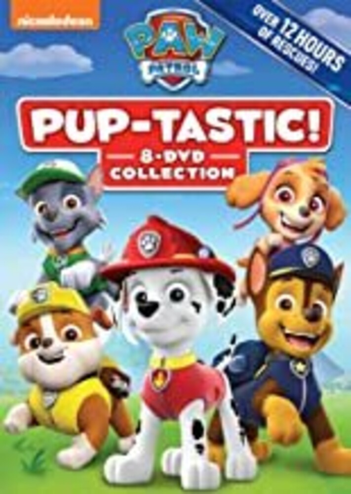 Paw Patrol: Pup-Tastic - Collection - PAW Patrol: PUP-tastic! 8-DVD Collection