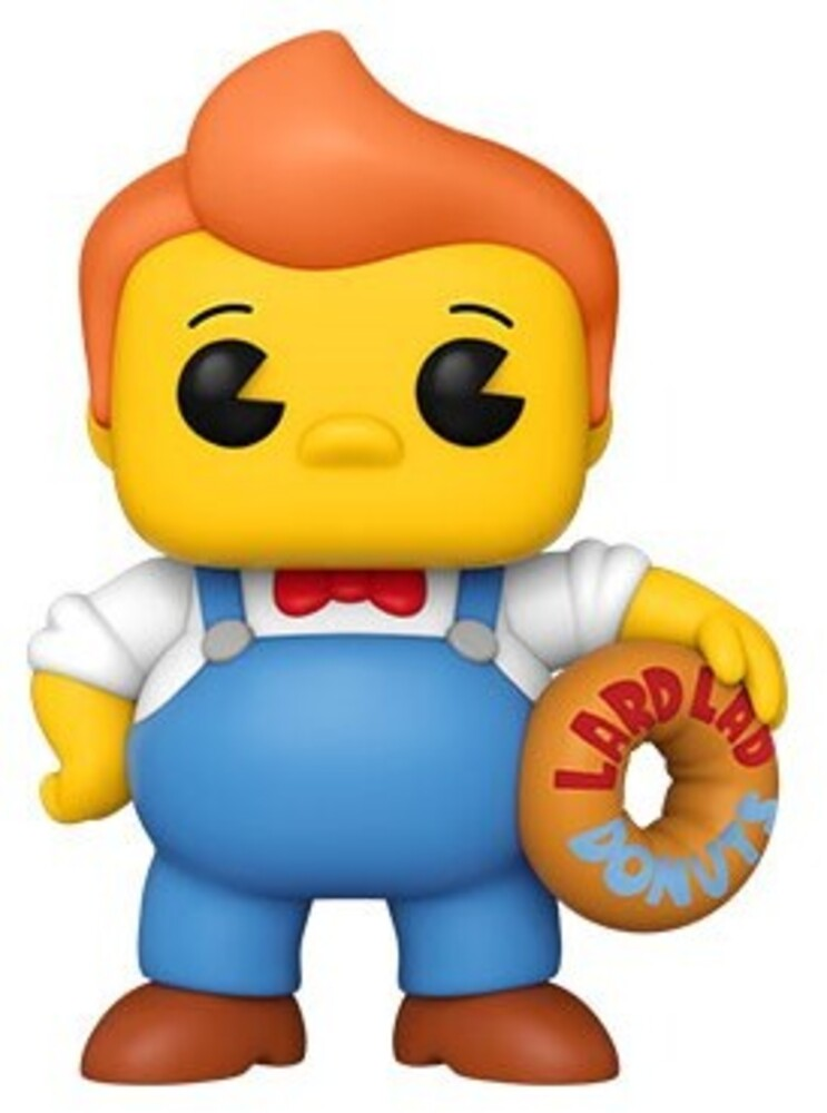 - FUNKO POP! ANIMATION: Simpsons- Lard Lad 6""