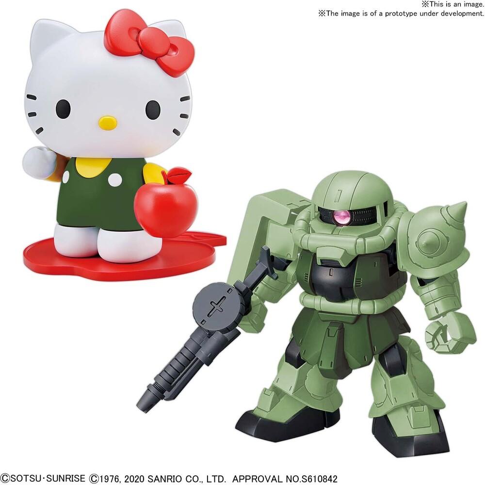 Bandai Hobby - Bandai Hobby - Hello Kitty / Zak II [SD Gundam Cross Silhouette]