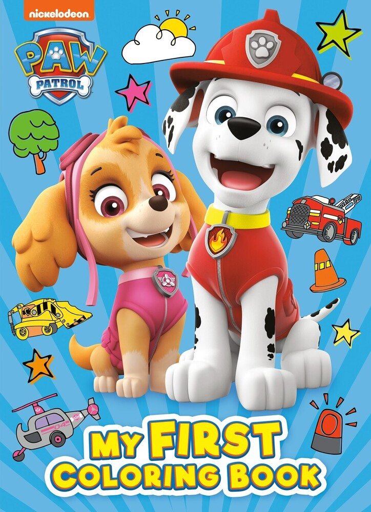 - PAW Patrol: My First Coloring Book (Nickelodeon)