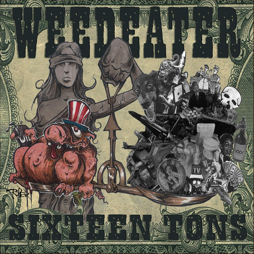 Weedeater - Sixteen Tons (Gate) [Limited Edition] (Wht)
