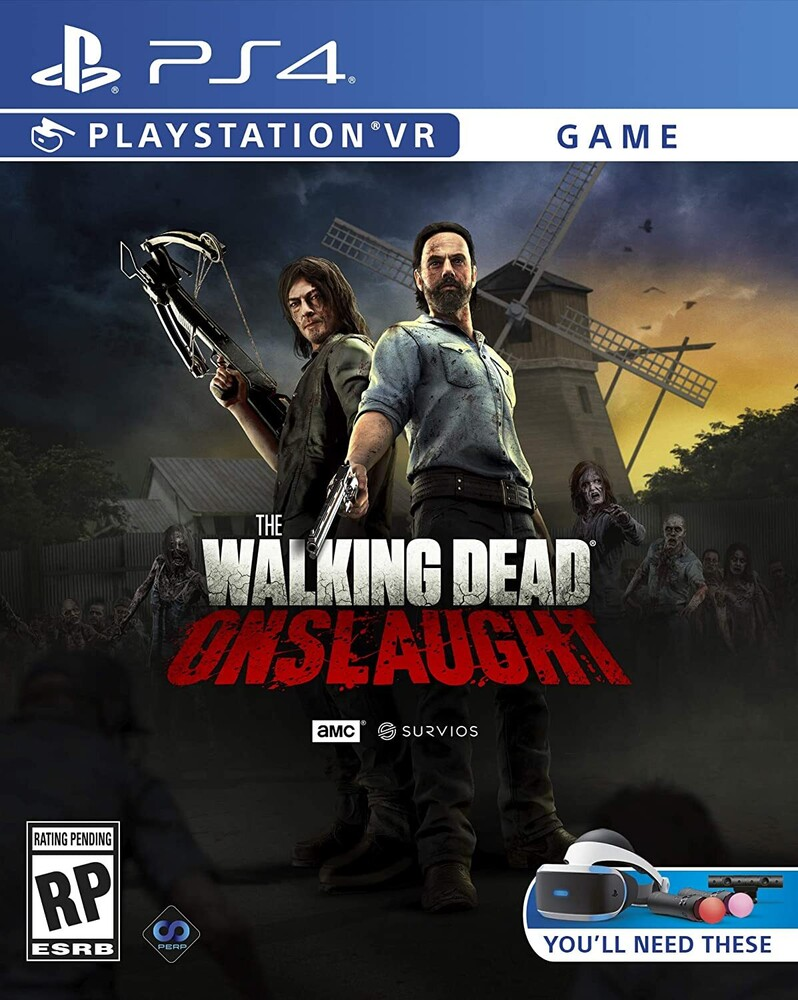 Ps4 the Walking Dead Onslaught - Ps4 The Walking Dead Onslaught