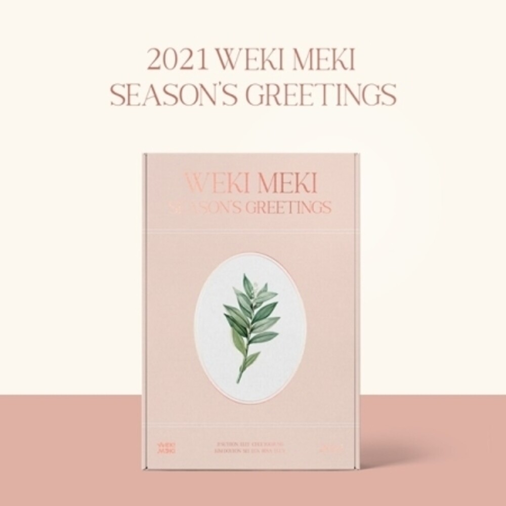 Weki Meki - 2021 Season's Greetings (incl. 2021 Desk Calendar, Planner, 104pgPhotobook, 72pg L Holder Set, 8pc Message Card Set, Photocard S