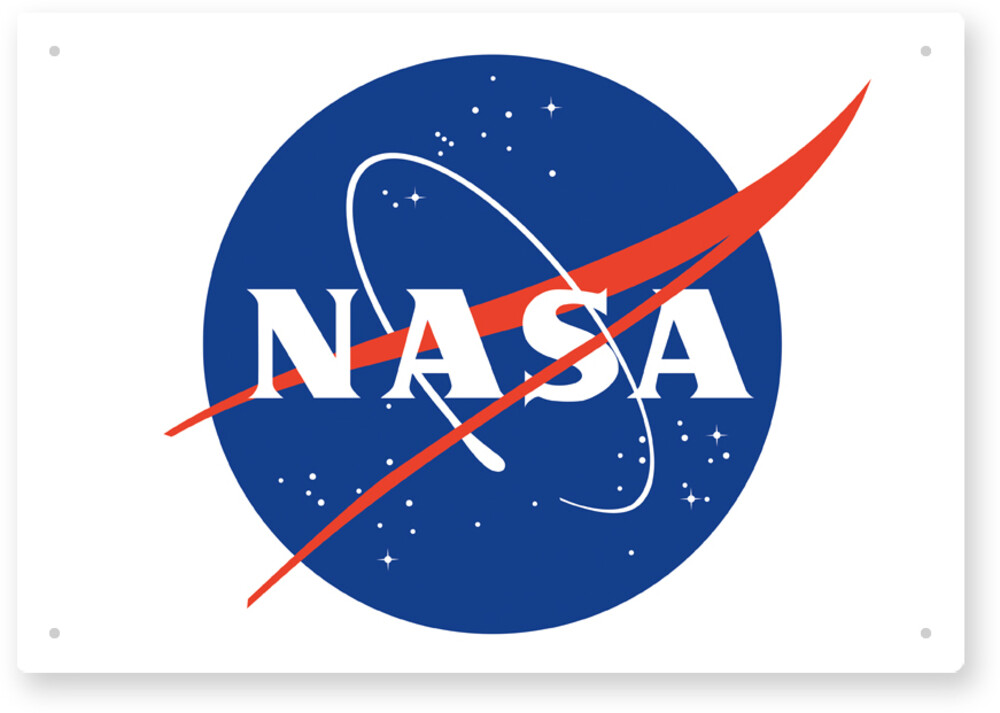 Nasa Vintage Logo 8 X 11 Tin Sign - NASA Vintage Logo 8 X 11 Tin Sign