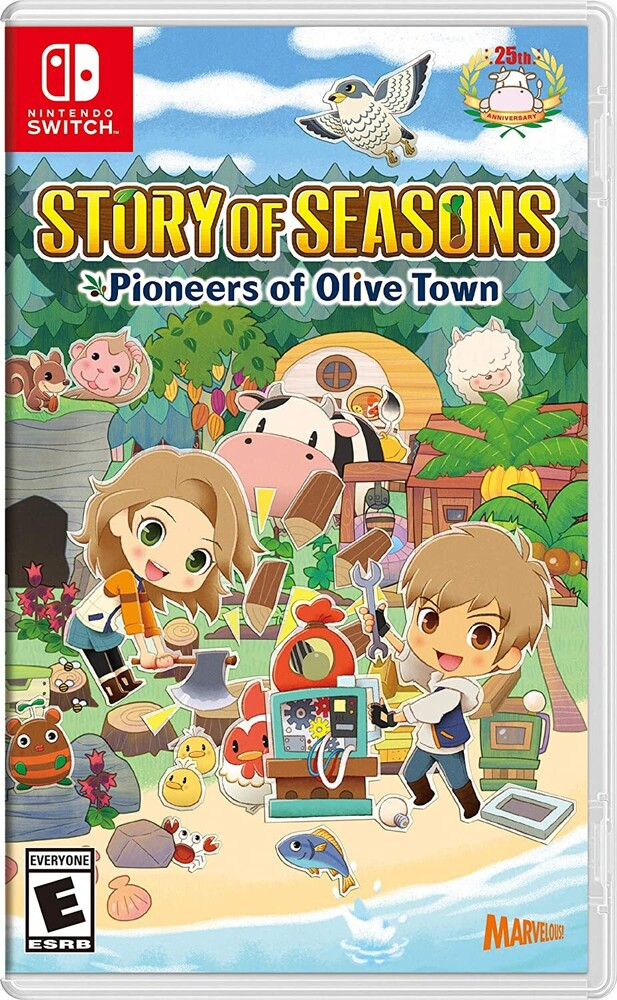 Swi Story of Seasons: Pioneers of Olive Town - Swi Story Of Seasons: Pioneers Of Olive Town
