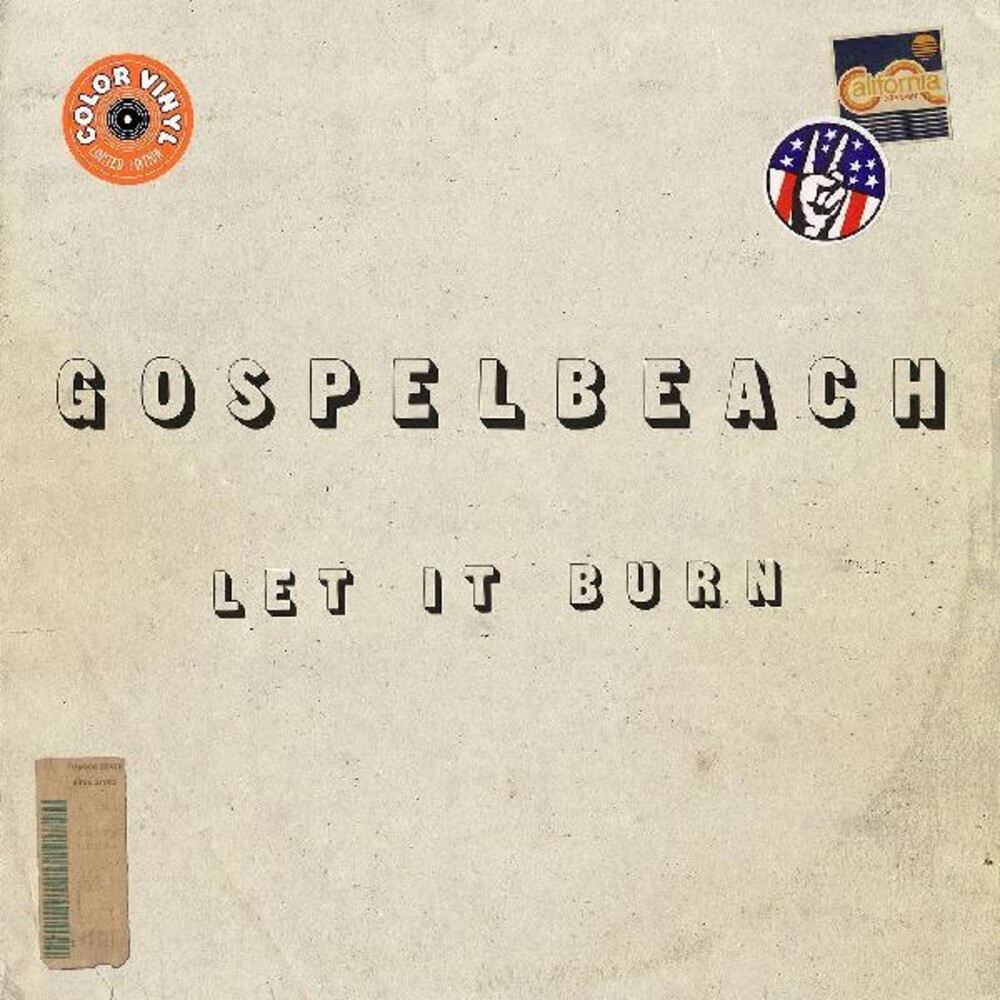 GospelbeacH - Let It Burn [Colored Vinyl] (Grn) (Can)