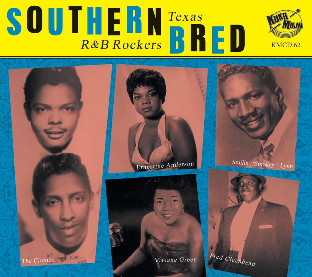 Southern Bred 12: Texas R&B Rockers / Various - Southern Bred 12: Texas R&B Rockers / Various