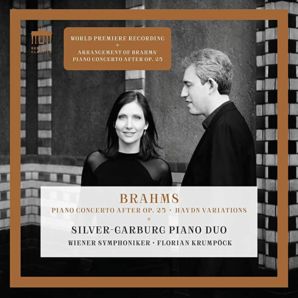 Brahms / Silver-Garburg Piano Duo / Krumpock - Piano Concerto After 25