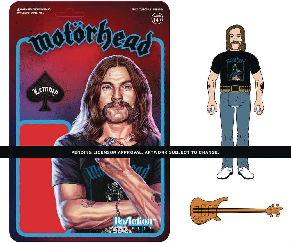 Motorhead Reaction - Lemmy (Recolor) - Super7 - Motorhead ReAction - Lemmy (Recolor)