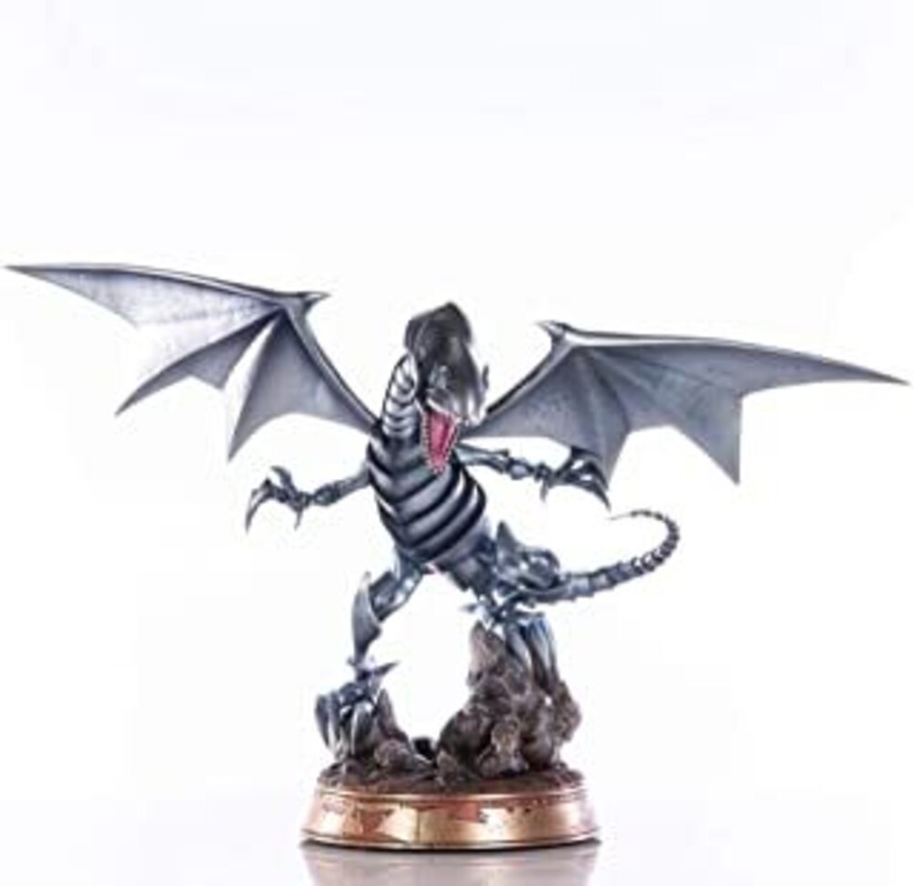 - First 4 Figures - Yu-Gi-Oh! Blue-Eyes White Dragon (Silver Variant) 14PVC Statue