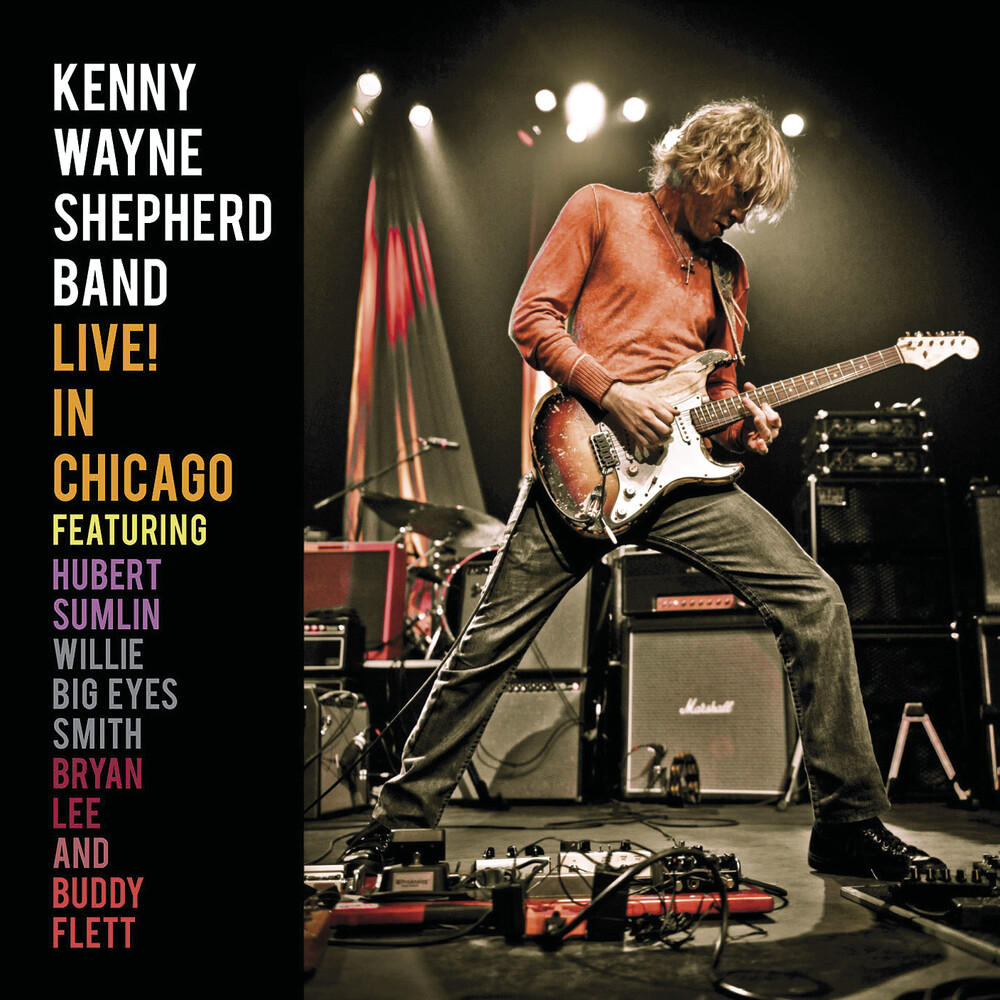 Kenny Shepherd  Wayne - Live! In Chicago