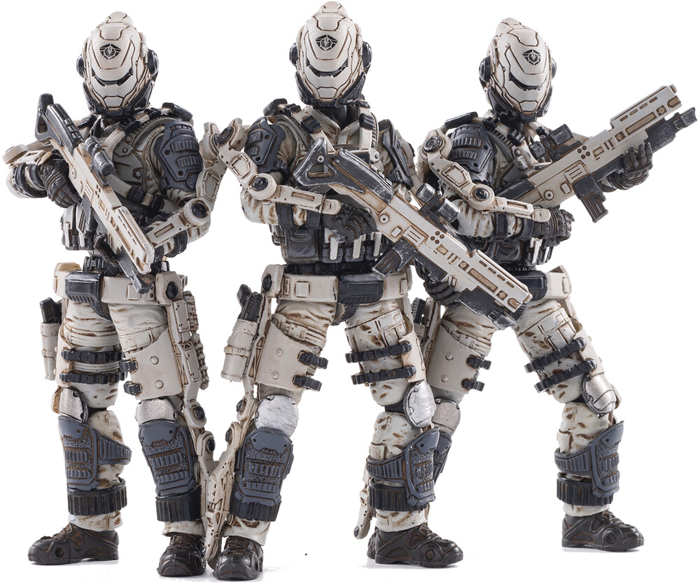Dark Source Trading - Dark Source Trading - Joy Toy Free Truism 20St Legion Wht Viper Squad1/18 Figure 3 Pack (Net)