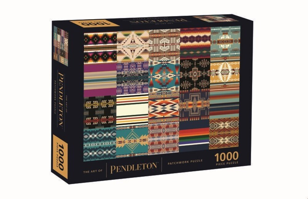 - The Art of Pendleton Patchwork 1000-Piece Puzzle