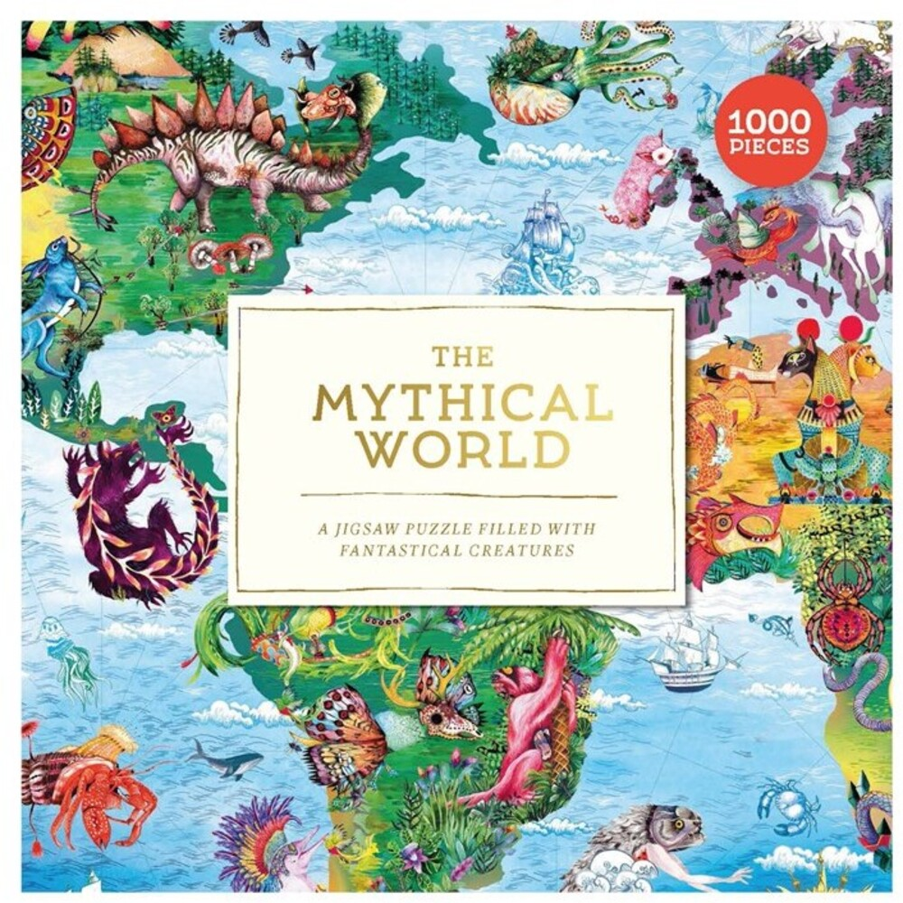 - The Mythical World: A 1000 Piece Jigsaw Puzzle Filled with Fantastical Creatures