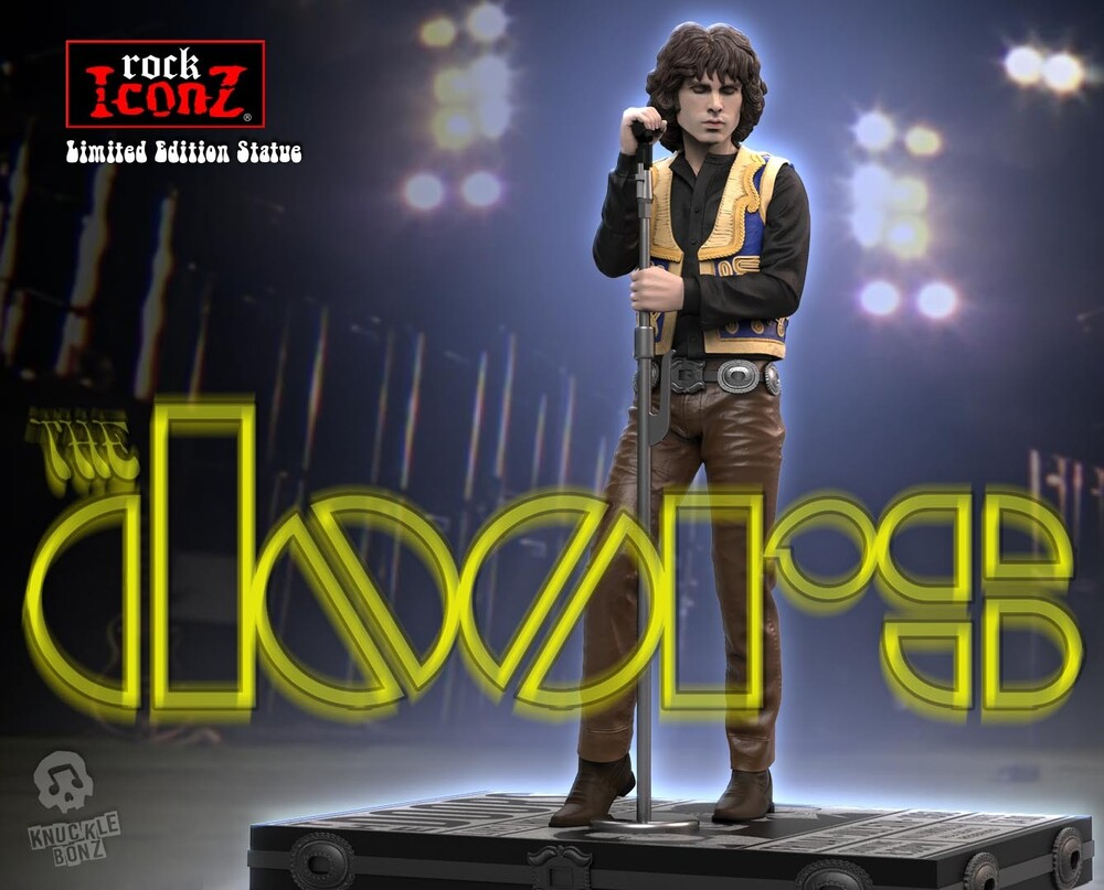 - Knucklebonz - Doors - Jim Morrison Rock Iconz Statue