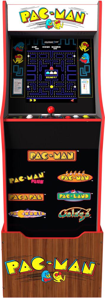 - Pacman 40th W/Stool/Riser/Marquee
