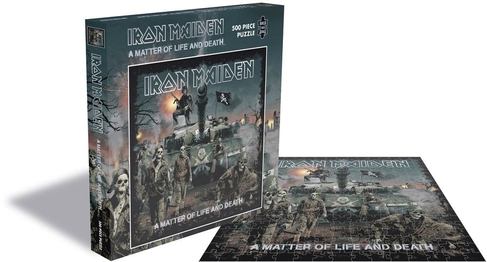 - Iron Maiden A Matter Of Life & (500 Pc Puzzle)