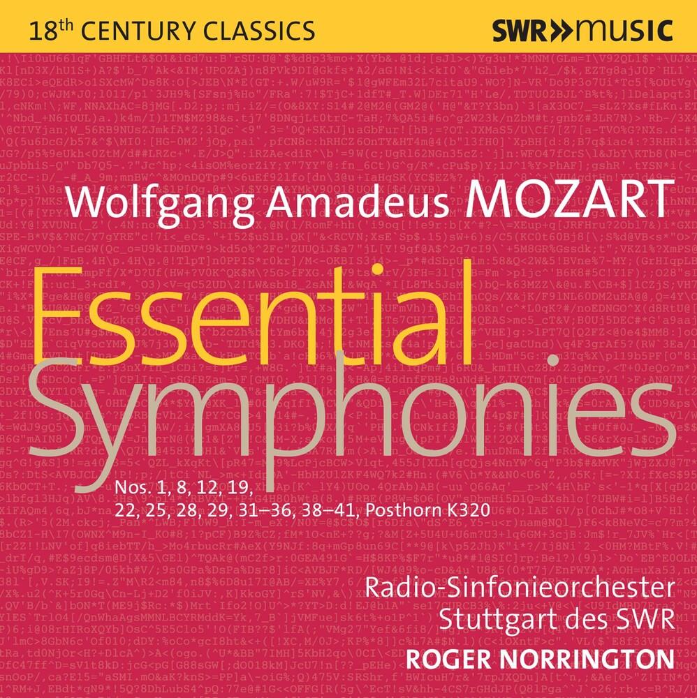 Mozart / Norrington - Essential Symphonies