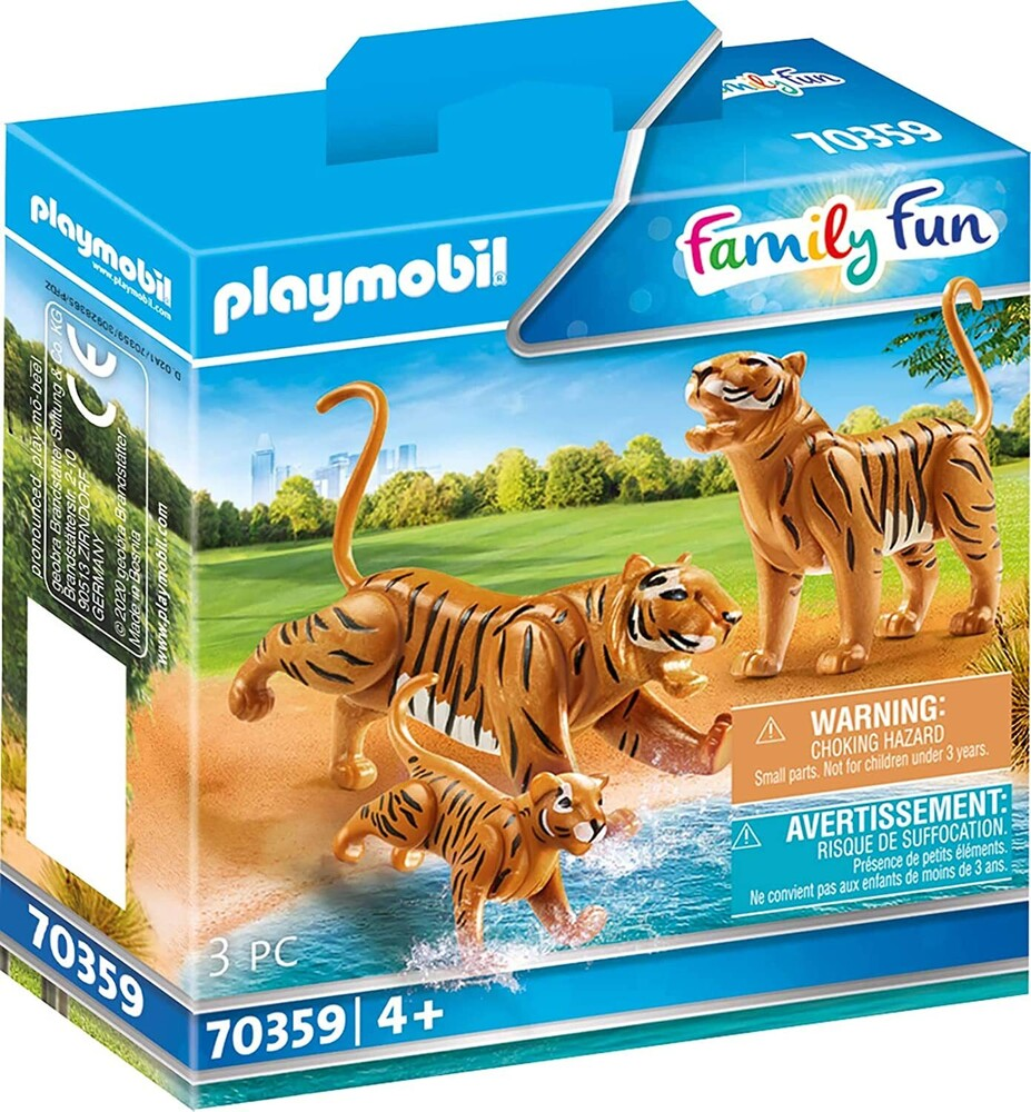 - Family Fun Tigers With Cub (Fig)
