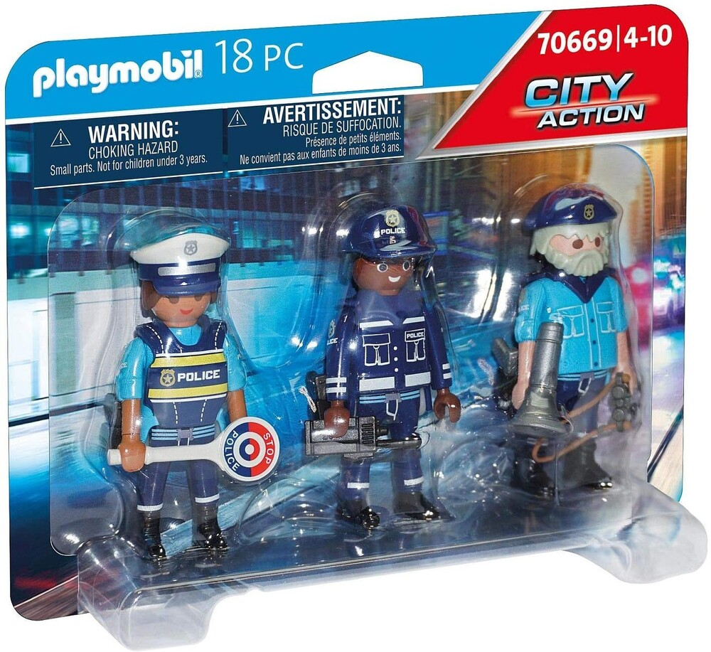 - City Action Police Figure Set (Fig)