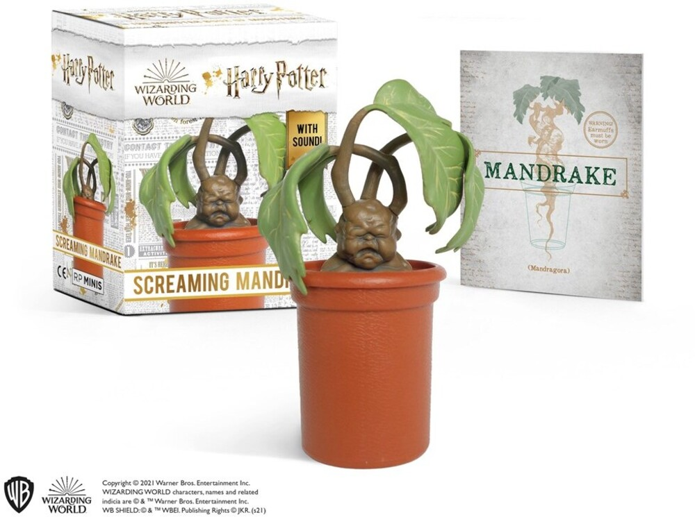 Donald Lemke - Harry Potter Screaming Mandrake (Gift)
