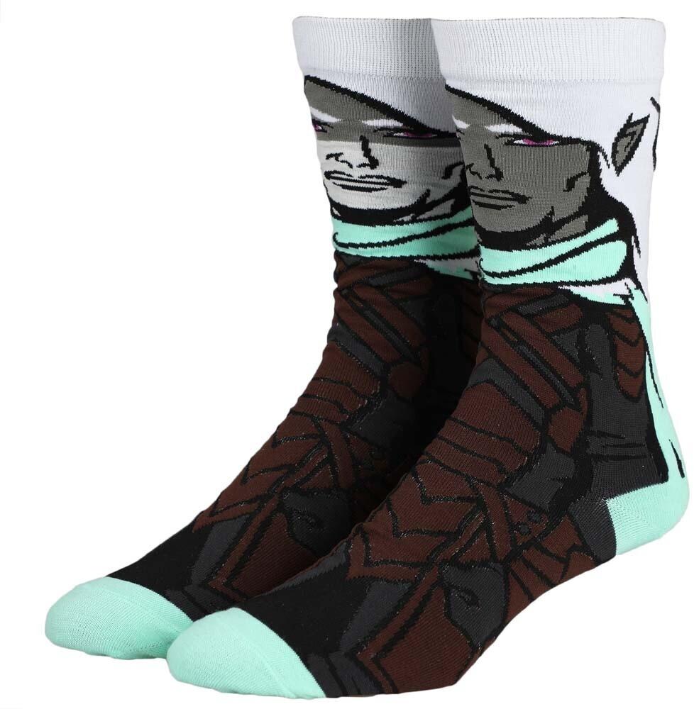 - Dungeons & Dragons Drizzt Do Urden Crew Socks 8-12