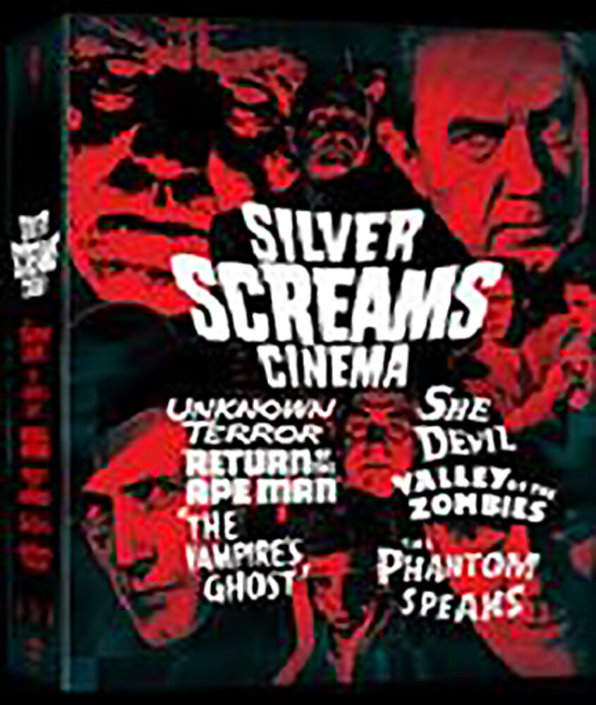 - Silver Screams Cinema (3pc) / (Box Ltd Aus)