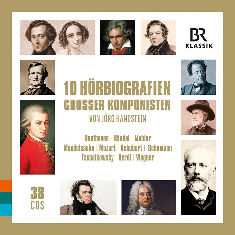 10 Audiobiographies / Various (Box) - 10 Audiobiographies (Box)