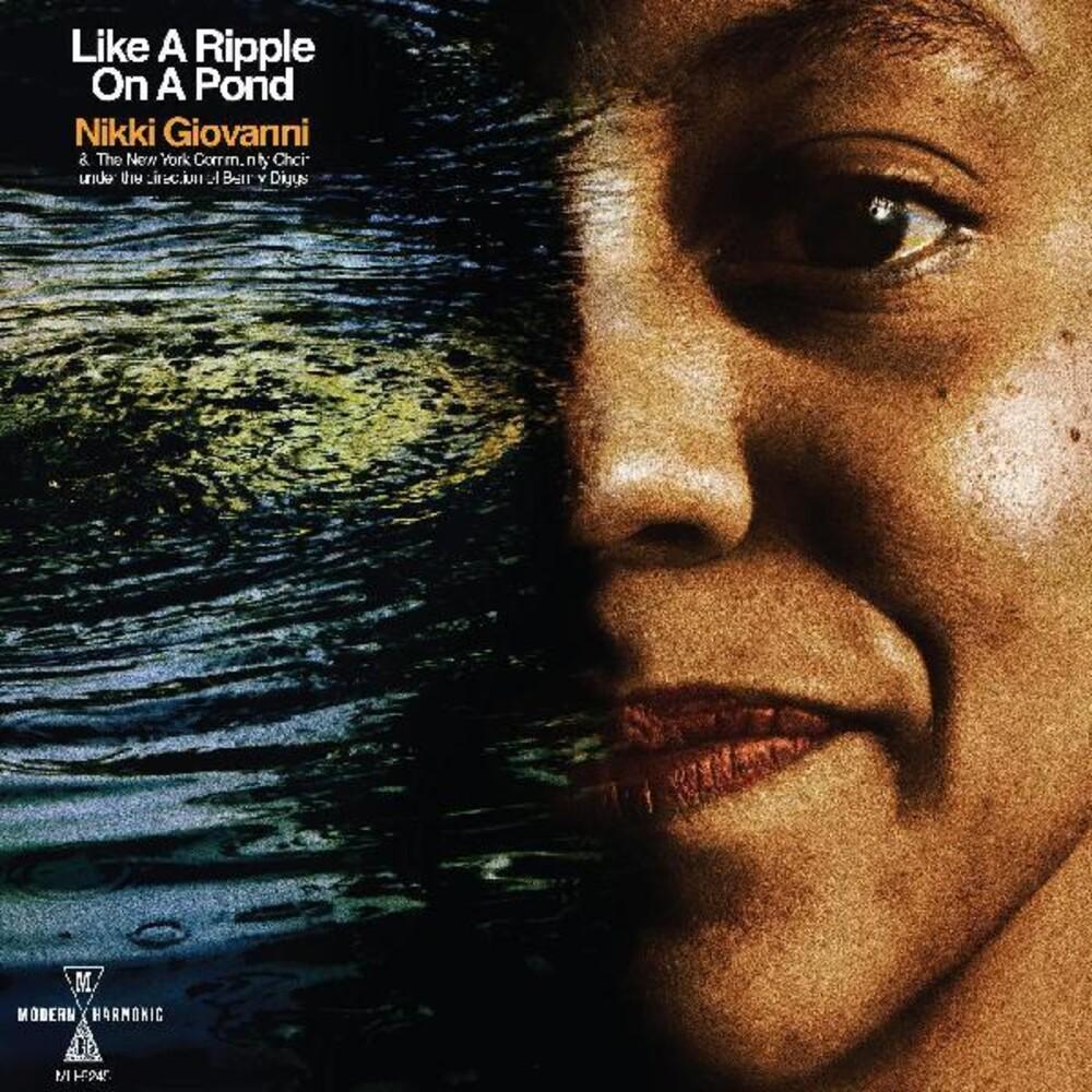 Nikki Giovanni - Like A Ripple On A Pond (Blue) [Clear Vinyl]