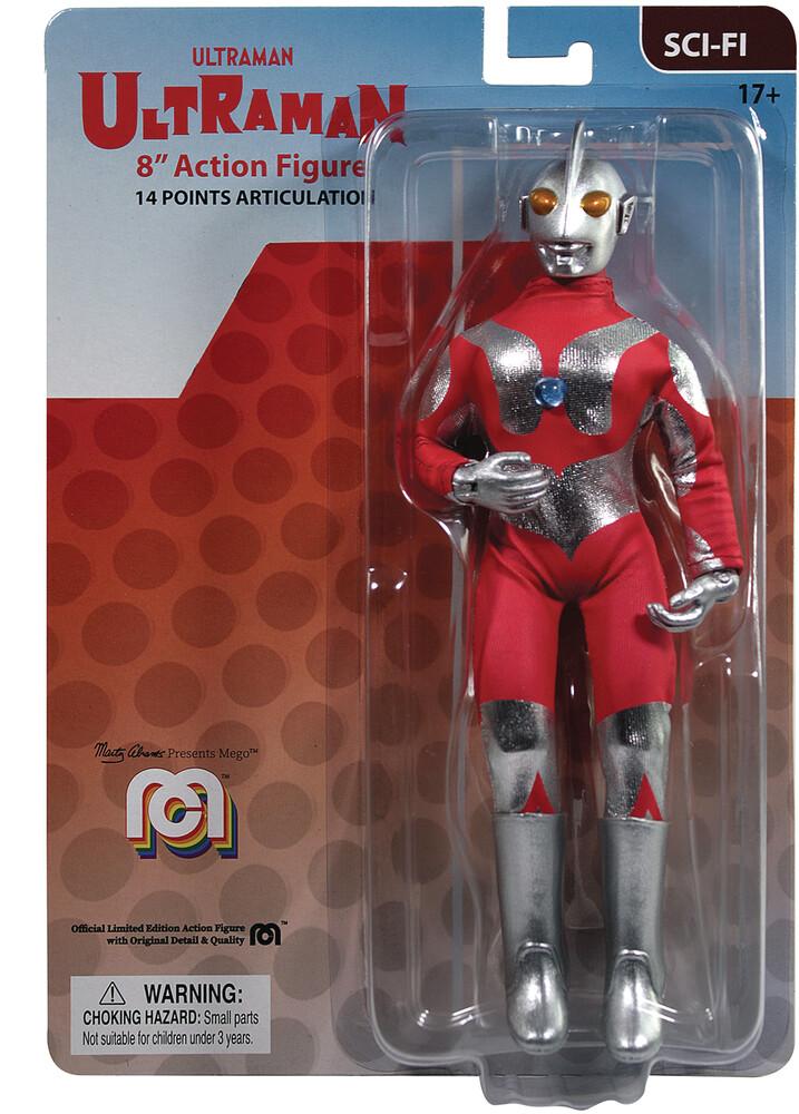 - Mego Sci-Fi Ultraman Ultraman 8in Af (Afig) (Clcb)