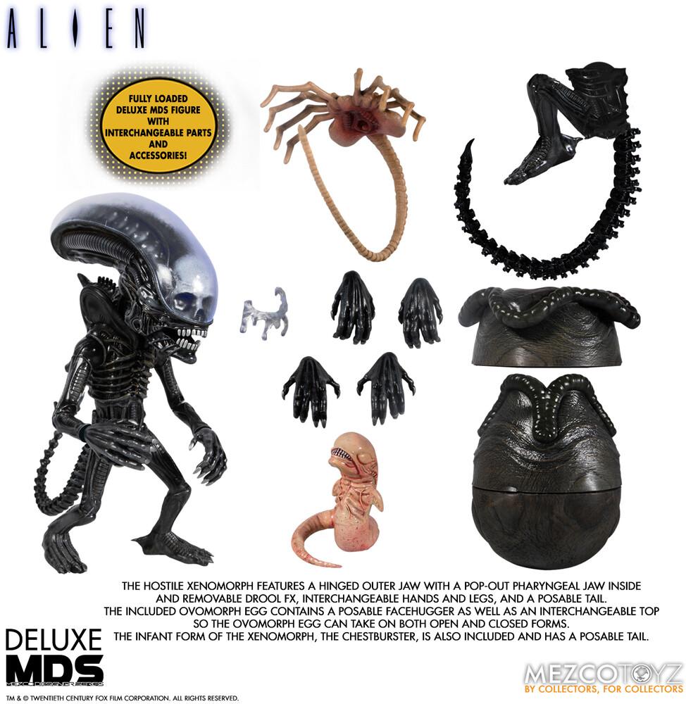 - Mds Deluxe Alien (Clcb) (Fig)