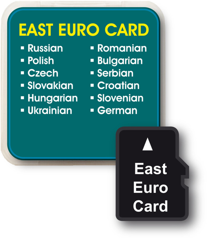 Franklin - Eastern European Languages Add On Card For Lv4-D