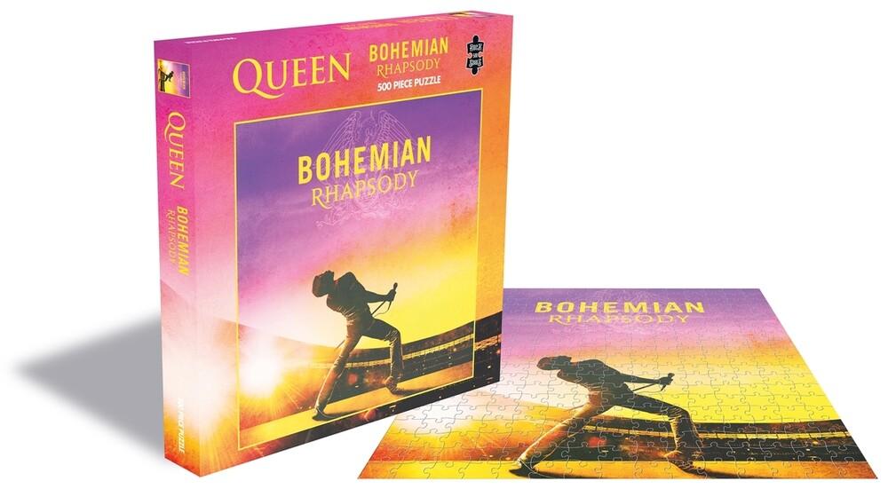 Queen Bohemian Rhapsody (500 Piece Jigsaw Puzzle) - Queen Bohemian Rhapsody (500 Piece Jigsaw Puzzle)