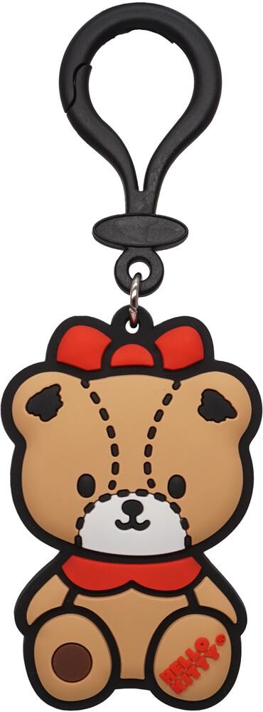 Teddy Bear Soft Touch Pvc Bag Clip - Teddy Bear Soft Touch Pvc Bag Clip (Key)