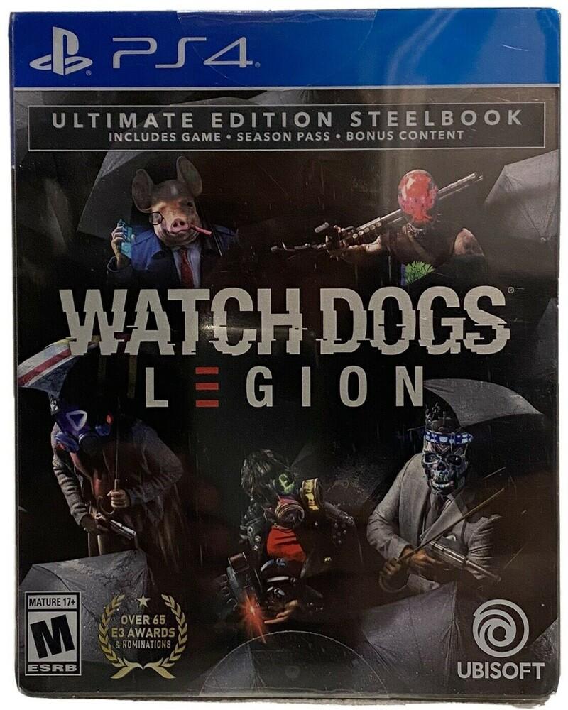 Ps4 Watch Dogs Legion Ult Stl - Ps4 Watch Dogs Legion Ult Stl