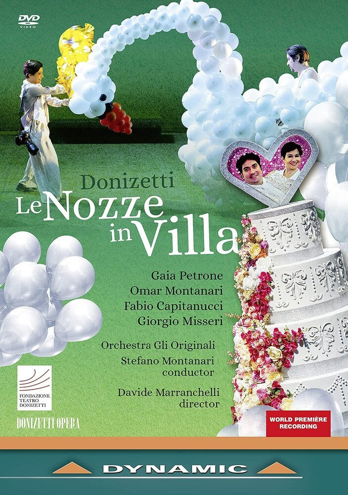 Donizetti / Orchestra Gli Originali / Montanari - Le Nozze In Villa