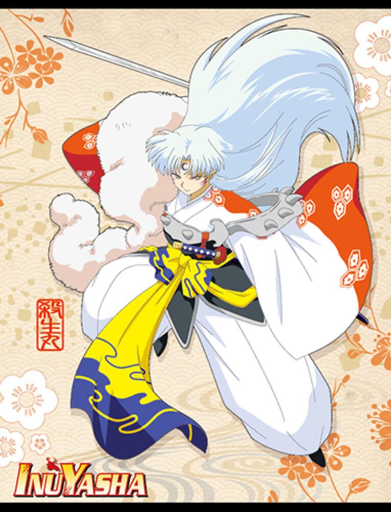 Inuyasha Sesshoumaru 60 X 45 Throw Blanket - Inuyasha Sesshoumaru 60 X 45 Throw Blanket (Blan)